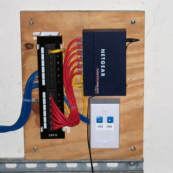 3rd Patch Panel